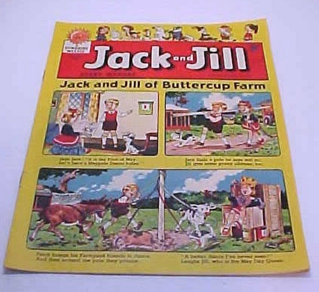 May 7 Th 1960 Jack And Jill Sunshine Weekly Comic Printed