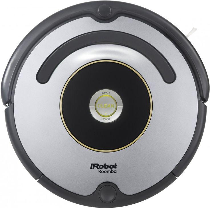 """Az iRobot Roomba 616-as egy alap felszereltségű, megbízható, egyszerűen kezelhető és  kiváló teljesítményt nyújtó okos kis robotporszívó az iRobot takarító robotok világában.  Nem kell mást tennie, csak a """"Clean"""" gomb megnyomásával útjára engedni,  hogy önállóan végezhesse feladatát."""