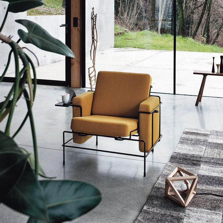 new TRAFFIC armchair by Konstantin Grcic