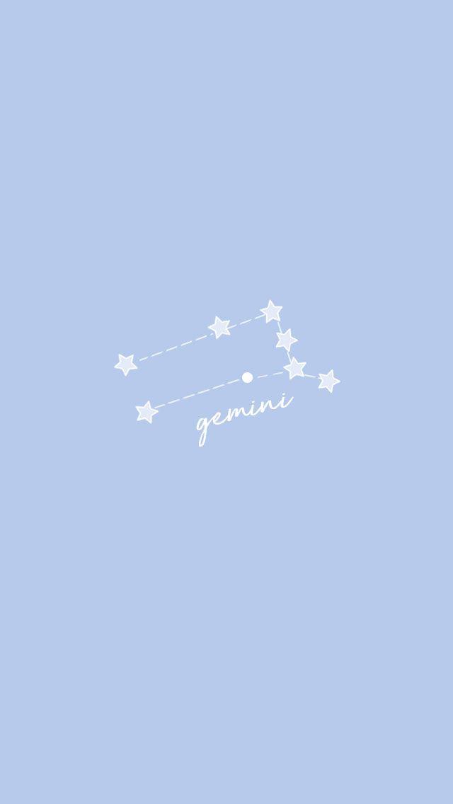 Gemini Star, Gemini And Sagittarius, Zodiac Signs Gemini, Aquarius Art, Iphone Wallpaper Stars, Gemini Wallpaper, Iphone Wallpapers, Cute Backgrounds For Iphone, Cute Wallpaper Backgrounds