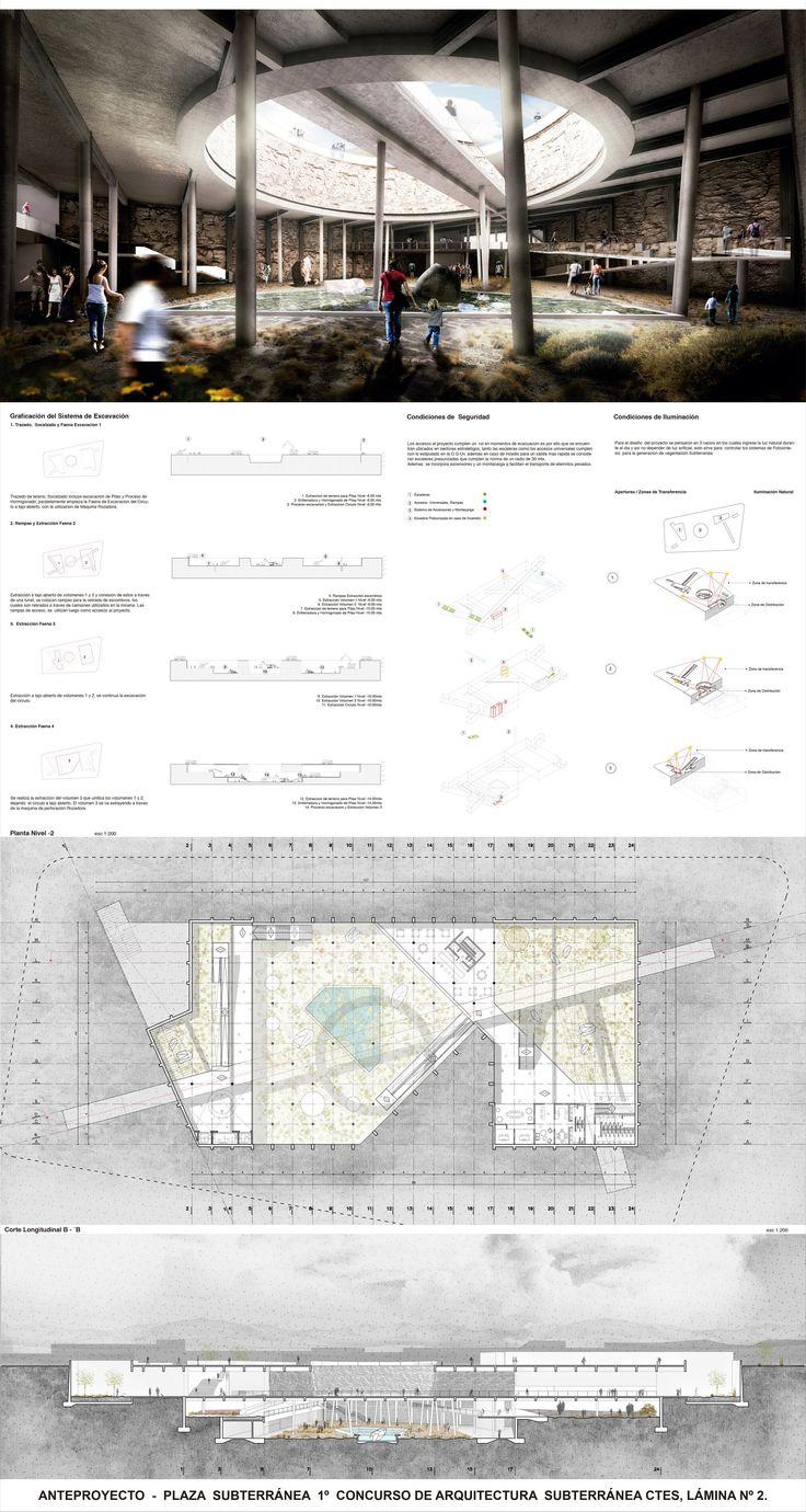 Galería de Jardín Botánico de Calama, Primer Lugar en Concurso de Arquitectura Subterránea CTES 2014 / Chile - 7