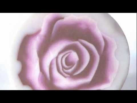 ▶ Polymer Cane 3D Rose. Tutorial is Italian, but it is easy to follow video if you have some basic polymer clay skills. A great tutorial if you have the  basics down-such a pretty flower!