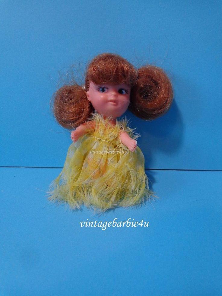Vintage Little Kiddles  Doll  Vintage 1960s Mattel Mystery Kiddle  #Mattel #DollswithClothingAccessories