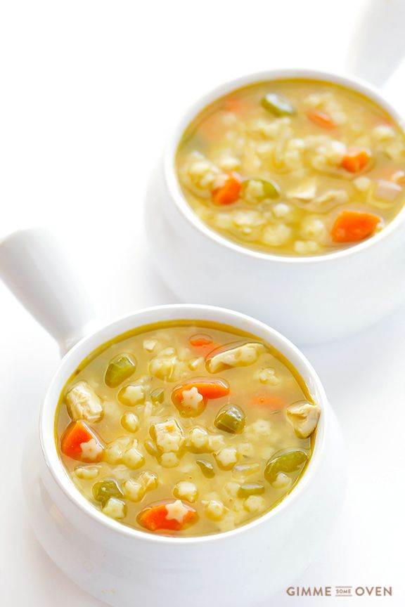 Chicken and Stars Soup. If you loved Chicken and Stars Soup as a kid, here is an all-natural homemade version that tastes even better! Plus it's quick and easy to make, and so delicious.