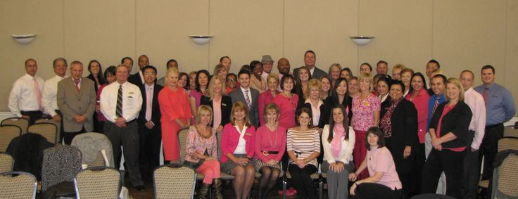 The Creig Northrop Team of Long & Foster Real Estate shows its support for Breast Cancer Awareness