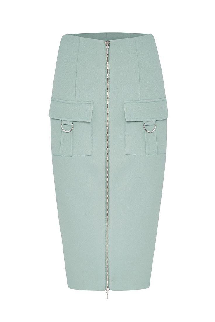 HIGH RISE SKIRT - Skirts