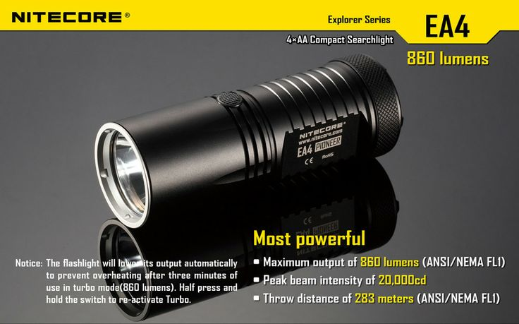 """Features Novel 'Unique Integrated Technology' offers a more sturdy and lightweight body Utilizes a CREE XM-L U2 LED (NEUTRAL version) Maximum output of up to 860 lumens Integrated """"Precision Digital Optics Technology""""¶ provides extreme reflector performance. Plus more.... #hidcanada"""