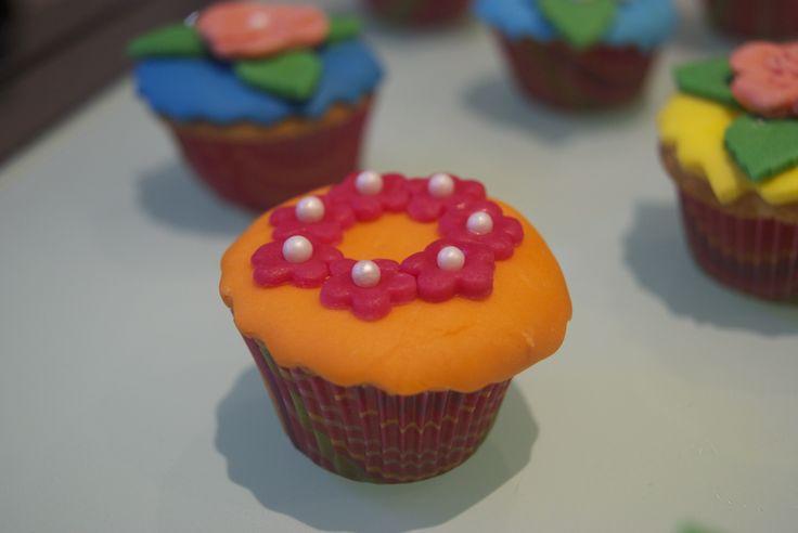 Garden mini cupcake