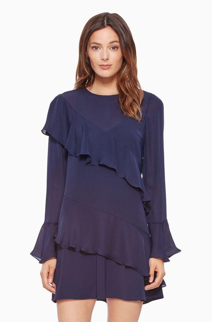 Evony Combo Dress | Parker NY