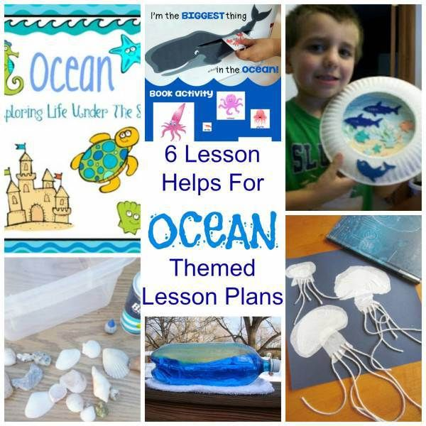 6 Lesson Helps For OCEAN Themed Lesson Plans