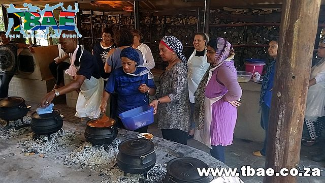 Medscheme Cooking Around The World Team Building Cape Town