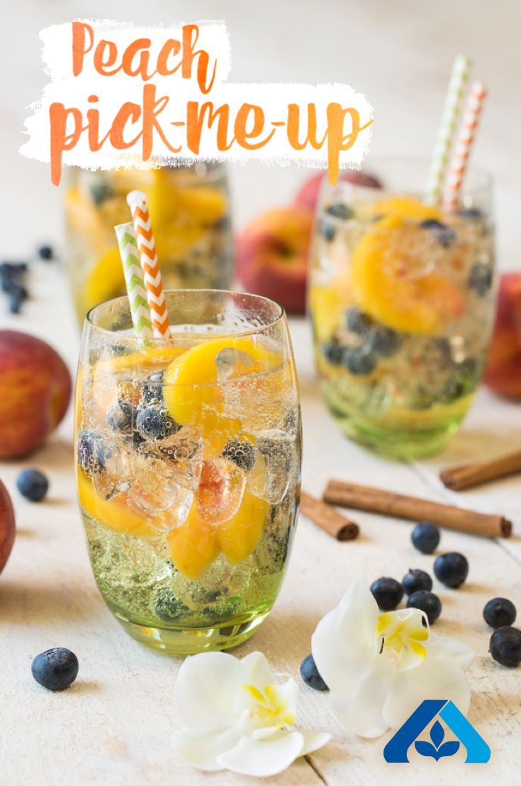 Are you in need of a pick-me-up? We've got just the cure! This Peach Pick-Me-Up recipe is simple, sweet, and perfect for entertaining.