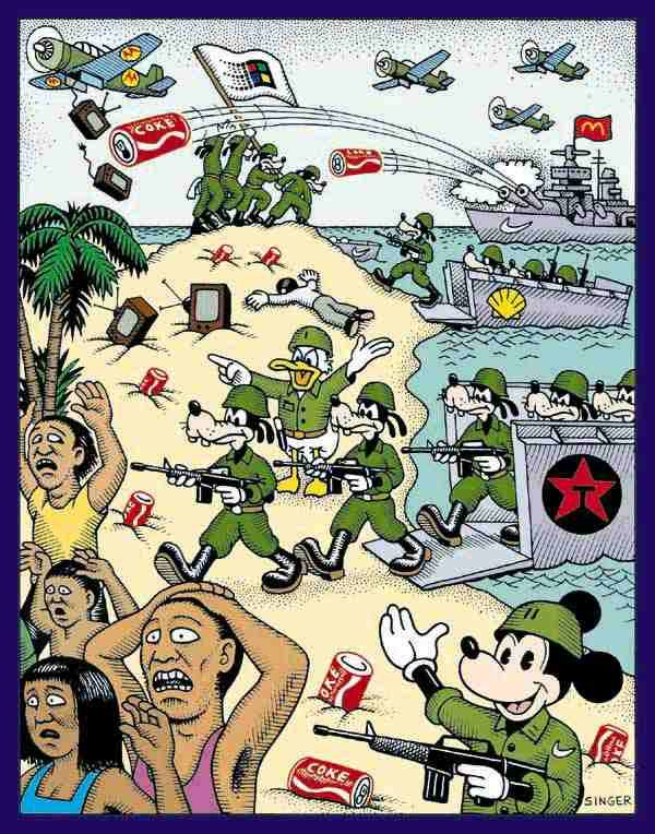 "D-Day  ""It doesn't matter whether it comes in by cable, telephone lines, computer, or satellite. Everyone's going to have to deal with Disney.""  Disney Chairman and Chief Executive Officer Michael Eisner"