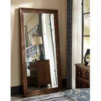 Coffee Brown Classic Traditional Floor Mirror - Trisha Yearwood