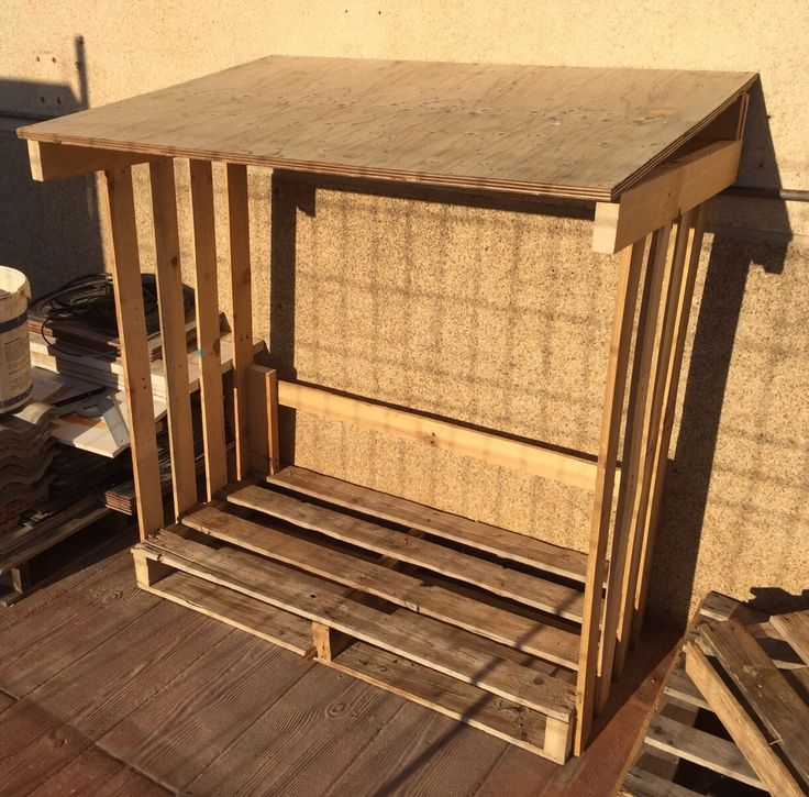 Le ero hecho de palets mis proyectos pinterest - Sillon hecho de palets ...