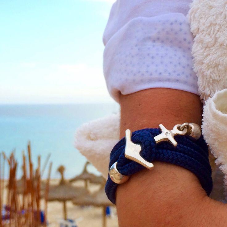 Beachday with my anchor in the sun ⚓️A true Ocean Story® begins in the water #bracelet #OceanStoryJewelry #anchorbracelet #yachtaccessorize #handmade #finejewelry #ankerarmband #harbor #maritim #beachfashion #oceanlove #exclusive #sylt #samnaun #hamburg #münchen #berlin #bremen #düsseldorf #kitzbuehel #oldenburg #bochum #Köln #berlin #luxurydesign #fashion #sailaway #exklusiv #boot2016