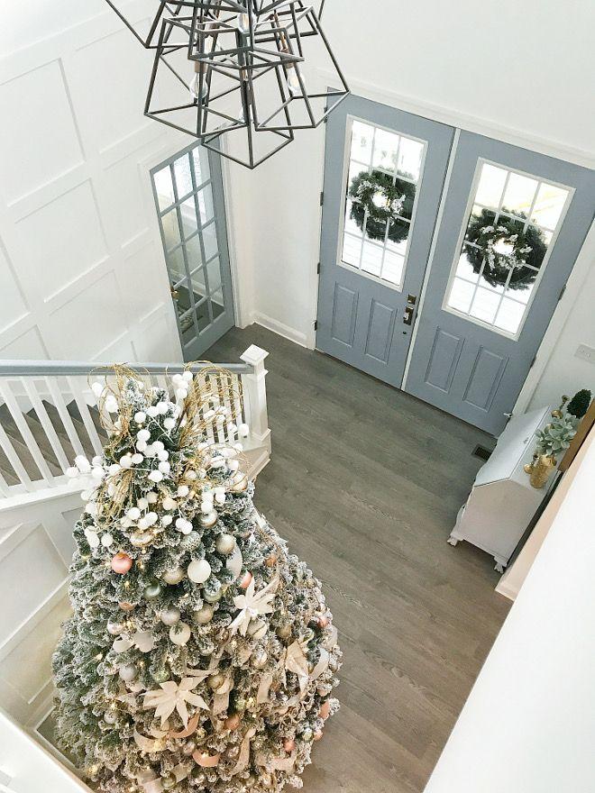 Grey Front Door Grey Interior Doors Grey Door - Paint color on Home Bunch blog