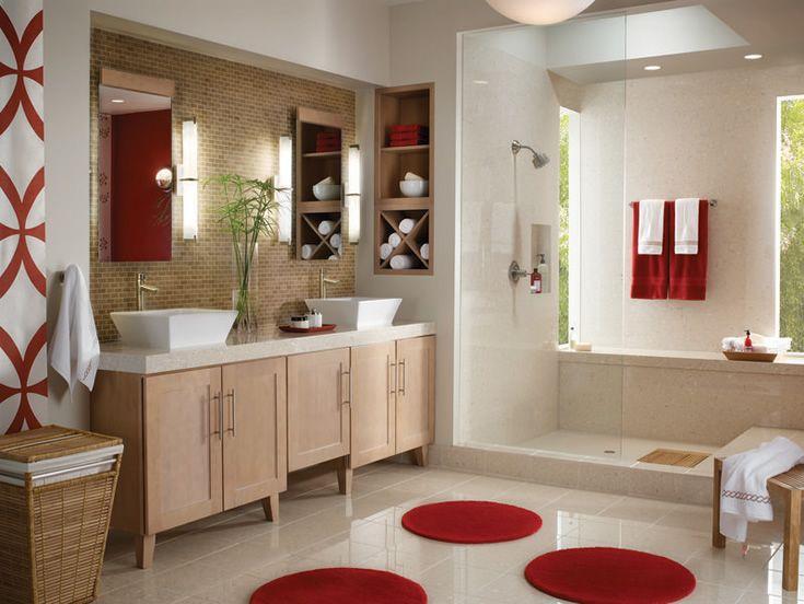 Bathroom Inspiration From Delta Faucet