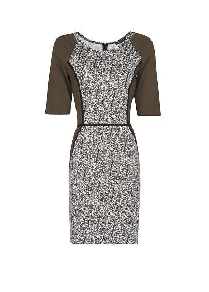 MANGO - Jersey fitted dress