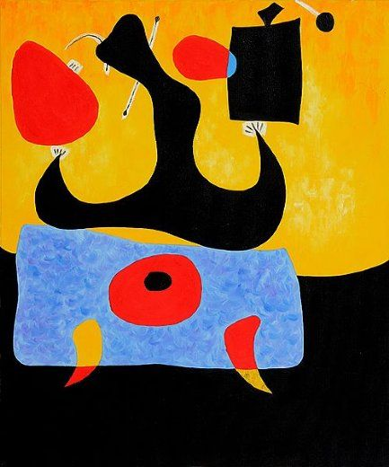 femme assise painting & joan miro femme assise paintings for sale ...