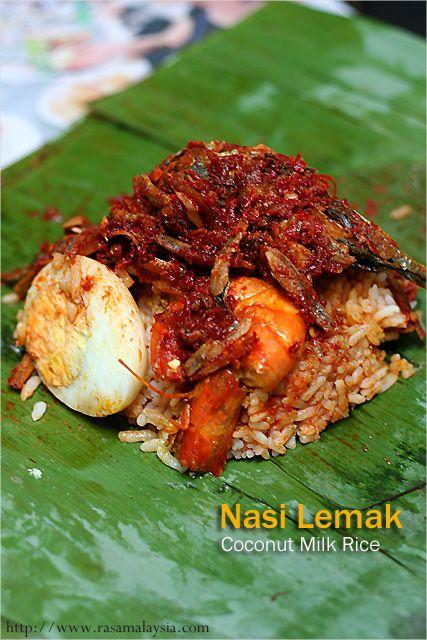 Malaysian Coconut Milk Rice