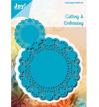 Joy Cutting & Embossing stencil Doilie