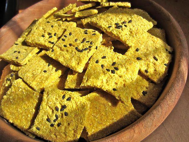 amazingbuckwheatcrackers - dehydrate instead of baking