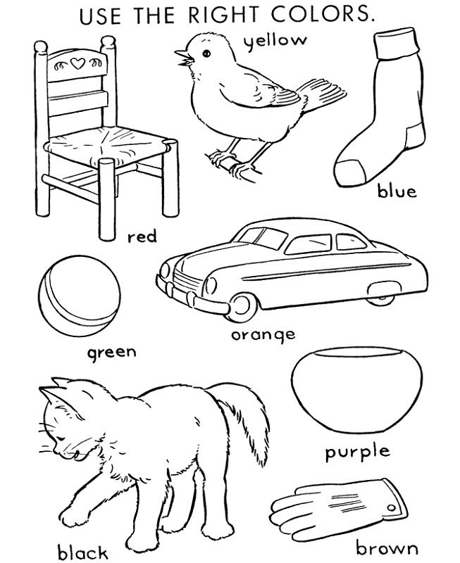 Fun Activity Worksheets For Kids Coloring For Kids Coloring Pages For Kids Color Activities