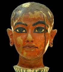 King Tut as a child