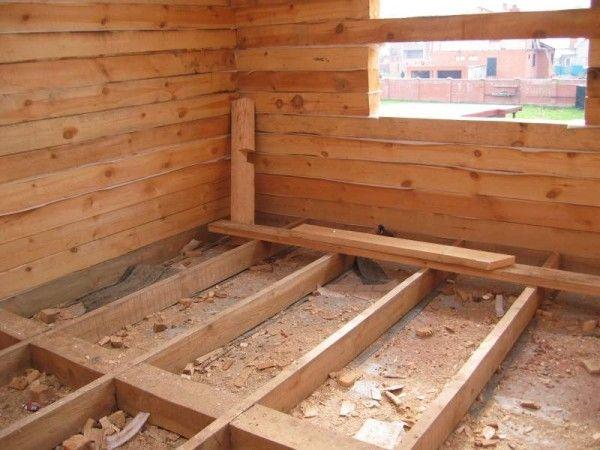 Как сделать деревянные полы в доме