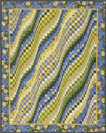Bargello Quilts by Mabeth  Sunshine & Blue Skies