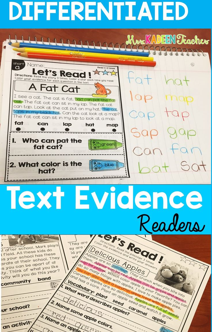 Readingprehension And Text Evidence For Beginners