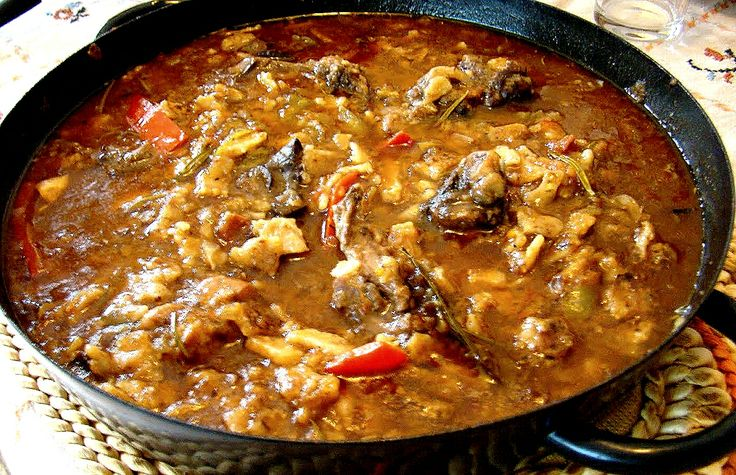 Gazpachos Manchegos Recipe - Spanish Meat Stew on Unleavened Bread