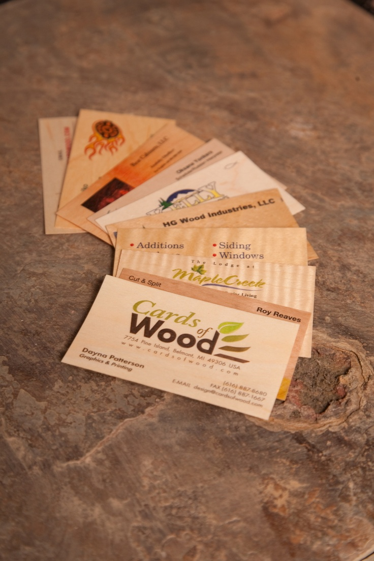 7 best images about Veneer Business Cards on Pinterest | Print ...