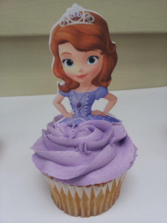 Celebra tu Fiesta de Princesa Sofía con Ricos y Bellos Cupcakes