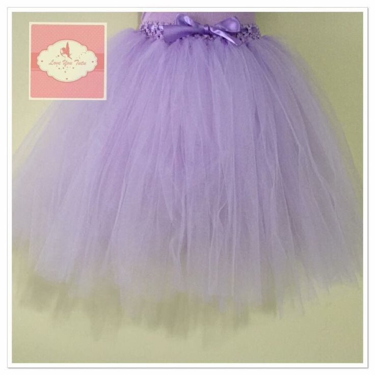 Lavender  3/4 tutu skirt  Available on the website  www.loveyoututu.com.au