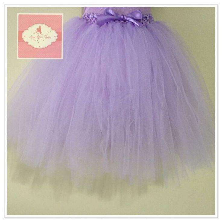 Lavender  3/4 tutu skirt  Available on the website  www.loveyoututu.com.au