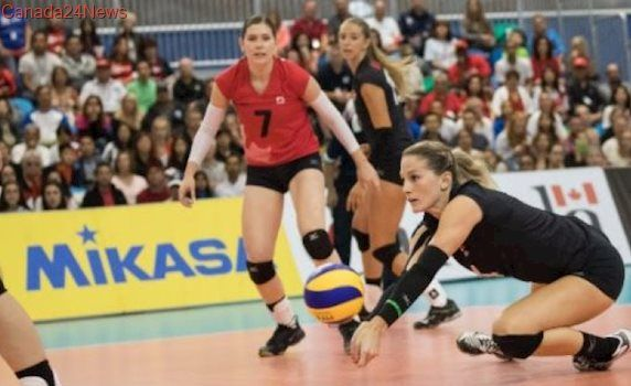 Canadian women's volleyball team tops Peru for 1st Grand Prix win on home soil