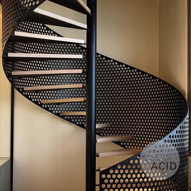 #AcidProjects #Stairs #SpiralStairs #StairsDesign #Design #Architecture  #Metal #Wood