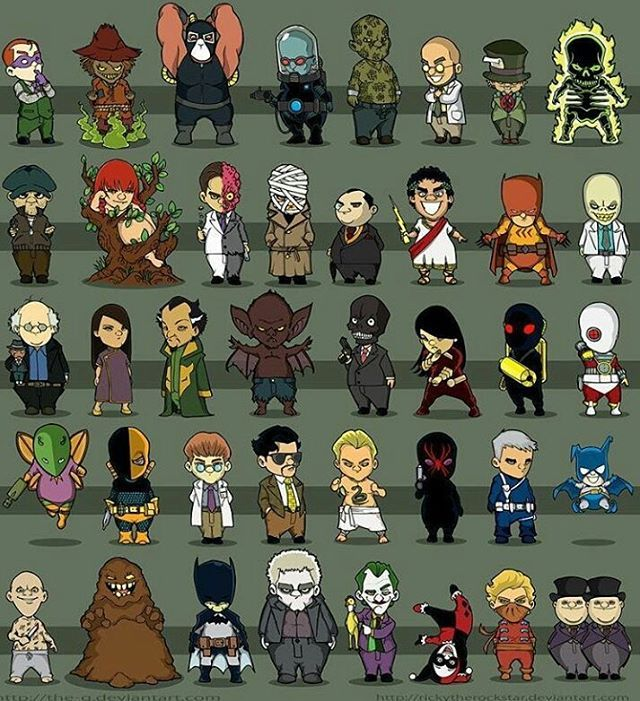 Aaaahhhh!! Choose your favorite bat villain