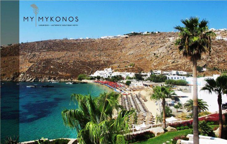 #MykonosTips: #Psarrou #beach is one of the most famous #beaches in #Mykonos, attracting many #celebrities in the #summer. Make sure you go early in the morning to find a spot! #MyMykonos #hotel #MyMykonosHotel #boutique #Luxury #boho https://mymykonoshotel.com/