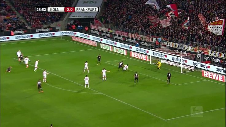 Eintracht Frankfurt vs. FC Cologne - Football Match Live Stream