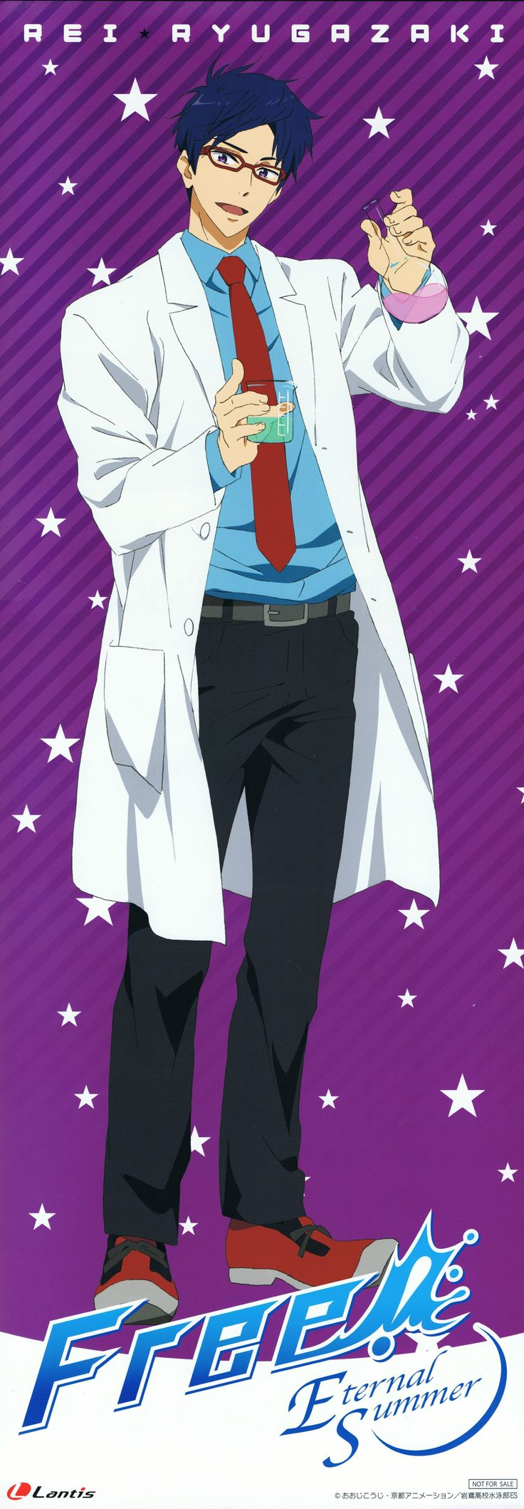 He looks BEAUTIFUL ( ͡° ͜ʖ ͡°) in that lab coat.. sorry