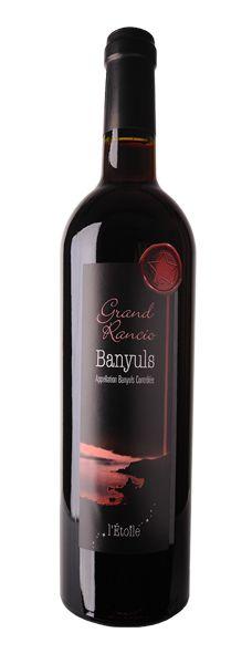 "Banyuls ""Grand Rancio"" Cave l'Etoile, Banyuls sur mer (South of France - Roussillon - Côte Vermeille) #Banyuls #Rancio #vin"