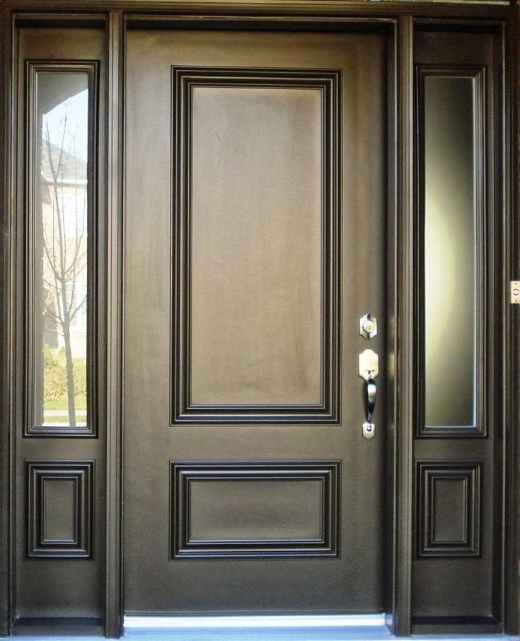 Model Desain Pintu Utama Rumah Modern Elegan | Pintu depan ...