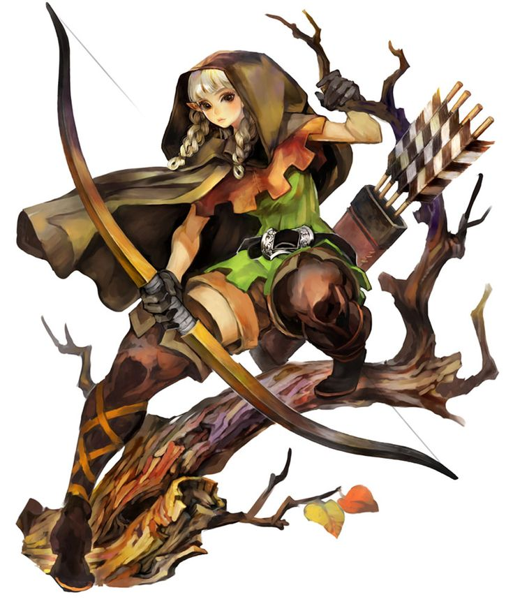 Elf - Pictures & Characters Art - Dragons Crown
