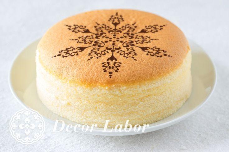 christmas stencil - snowflake - tortasablon - karácsonyi stencil http://decorlabor.hu/