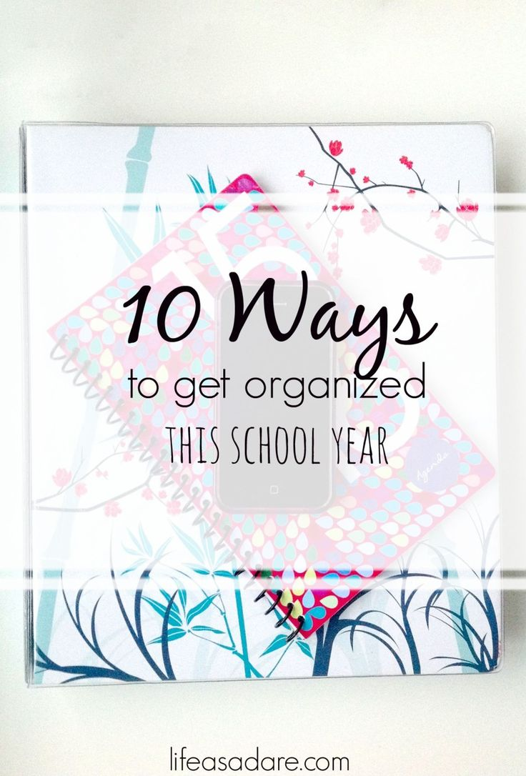 Let's just say it how it is: college is hectic and it's almost impossible sometimes to get organized and stay that way. At least, that's how it definitely feels. I've been at the point where I look...