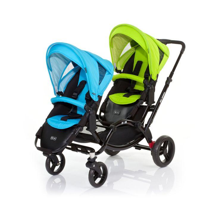ABC Design Zoom Tandem Pushchair - Rio/Lime