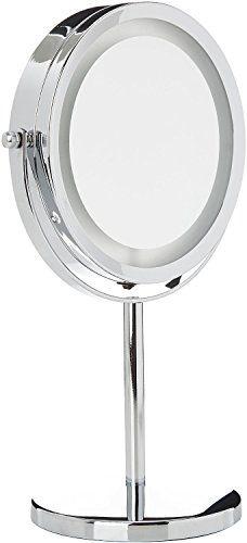 medisana cm espejo cosmtico de aumento x con luces led http
